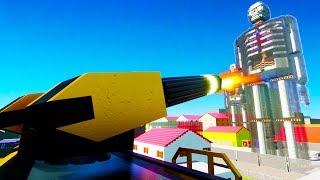WHEN TITANS INVADE LEGO CITY OF BRICKSVILLE - Brick Rigs Best Workshop Creations Gameplay