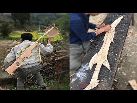 Amazing Ideas Craft Use Bamboo, Wood Make Anything Like PUBG Items, Furniture ...