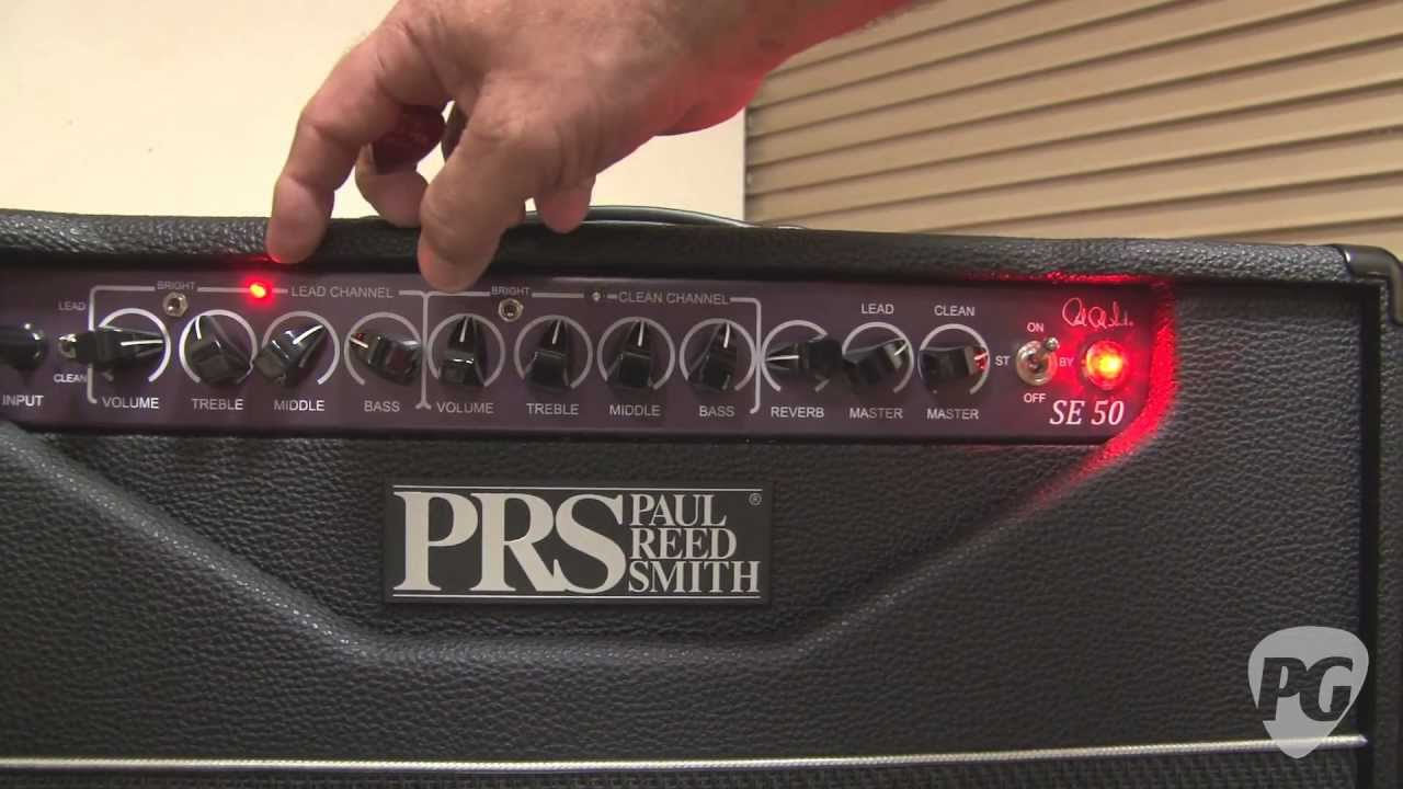 maxresdefault experience prs '11 se amplifier line 20, 30, & 50 demos youtube  at gsmx.co