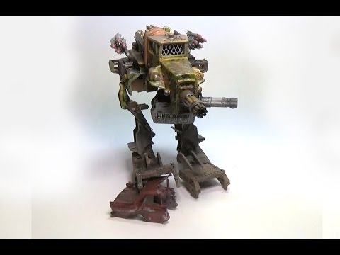 Custom Mad Max BattleMech made from Hot Wheels and ...