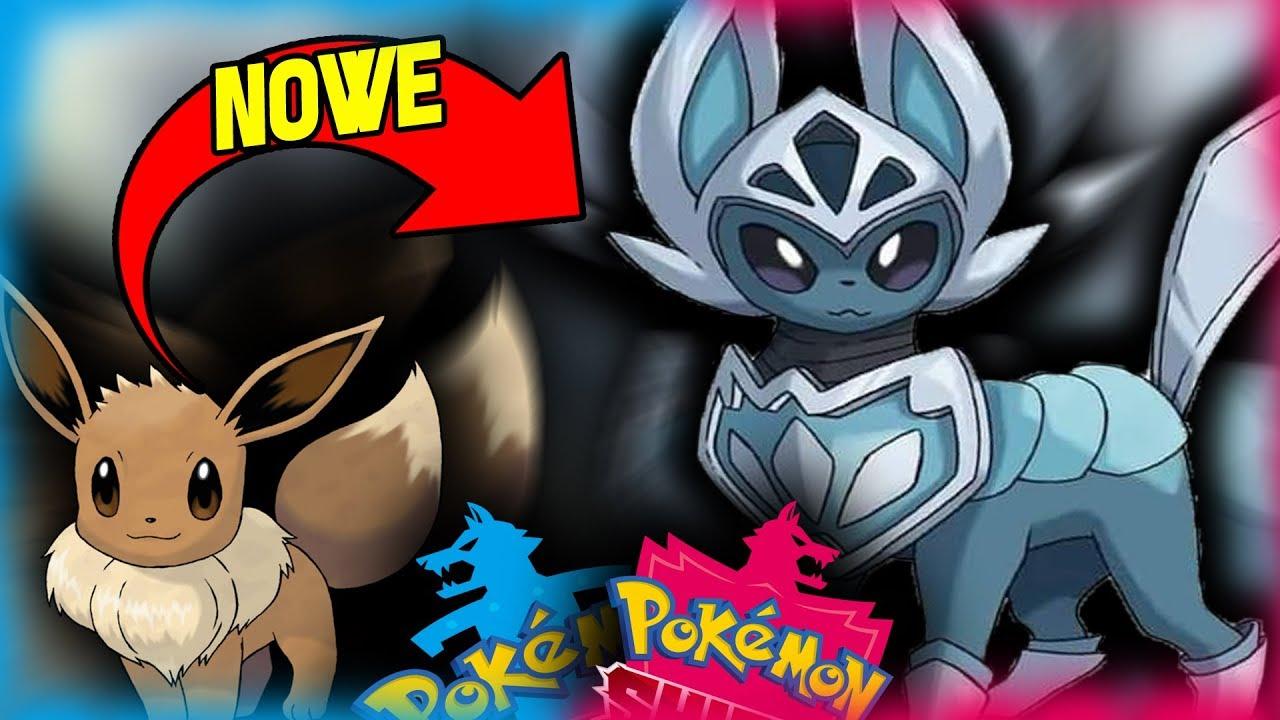 PRAWDOPODOBNE NOWE EWOLUCJE EEVEE !! I Pokemon Sword and Shield