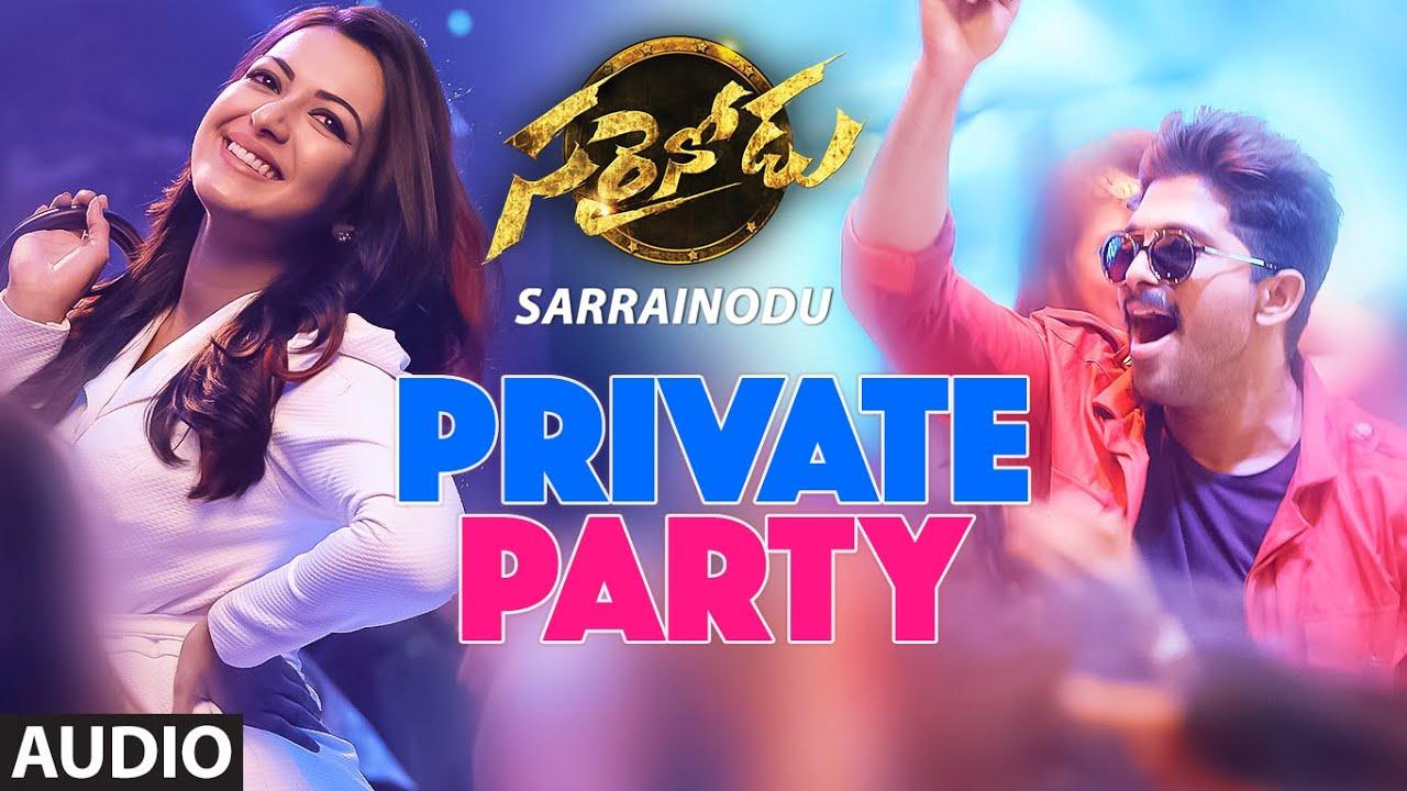 Telugu party songs