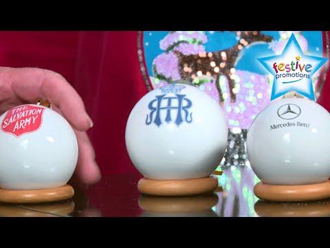 Bespoke & Personalised Porcelain Baubles