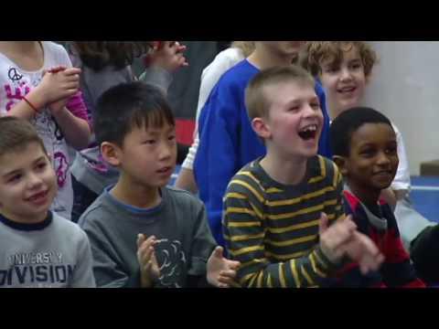 Tay Fisher talks bullying at Lynwood Elementary School