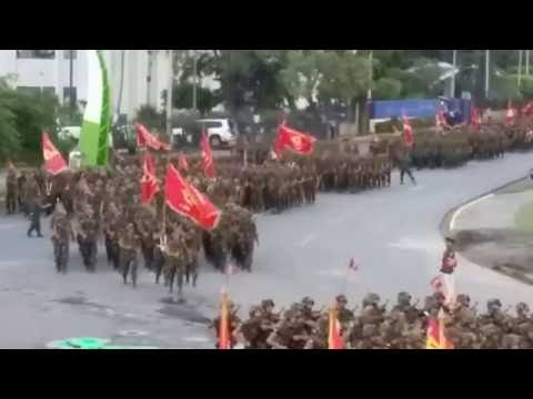 EJERCITO DE NICARAGUA 2016 !! Desfile Militar del 3 de Septiembre del 2016 - 37 Aniversario !!