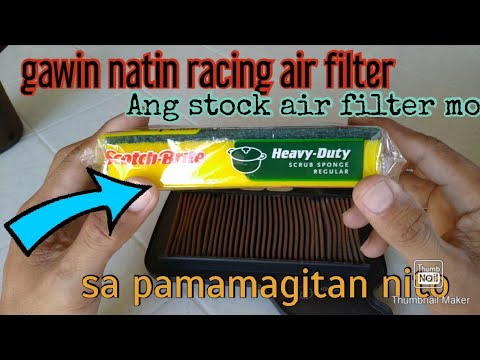 Stock Air Filter Gawin Racing Air Filter