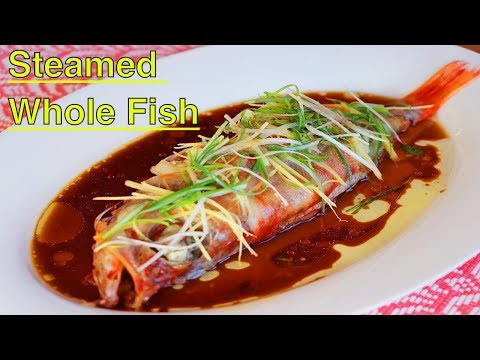 Chinese Steamed Whole Fish | Happy Chinese New Year | CiCi Li - Asian Home Cooking Recipes