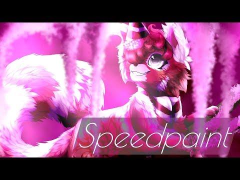 Sakura Drapes - Speedpaint