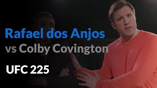 How Rafael dos Anjos beats Colby Covington...