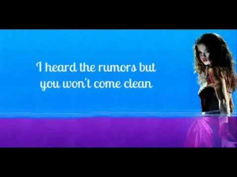 Selena Gomez and The Scene - My Dilemma (No Pitch Change + Lyrics On Screen)