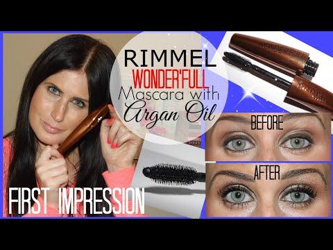 0747000533a FIRST IMPRESSION   Rimmel Wonderful Mascara with Argan Oil - YouTube