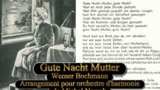 Gute Nacht Mutter Werner Bochmann Arrangement Orchestre d