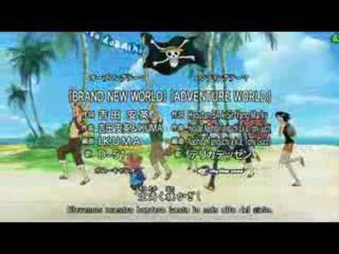 One Piece Brand New World HDTV