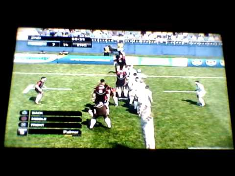 Rugby World Cup 2011 Gameplay - South Atlantic Tour (Part 2 Of 2) v Argentina
