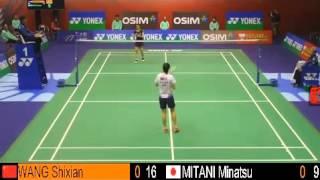 SF - WS - WANG Shixian vs MITANI Minatsu - 2013 Hong Kong Open