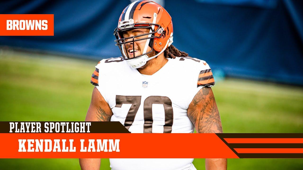 Player Spotlight: Kendall Lamm | Browns Live - YouTube