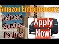 Amazon (DSP) Delivery Service Partner Business Package Driver Startup