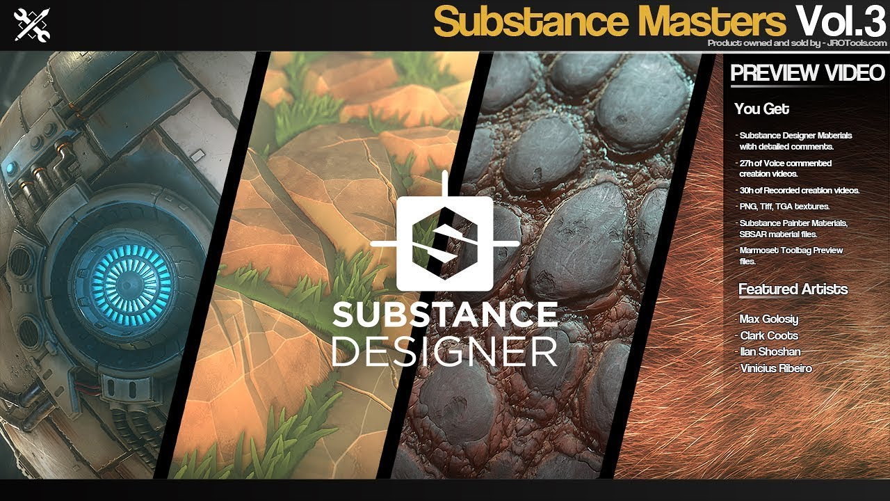 Free Sbsar Materials