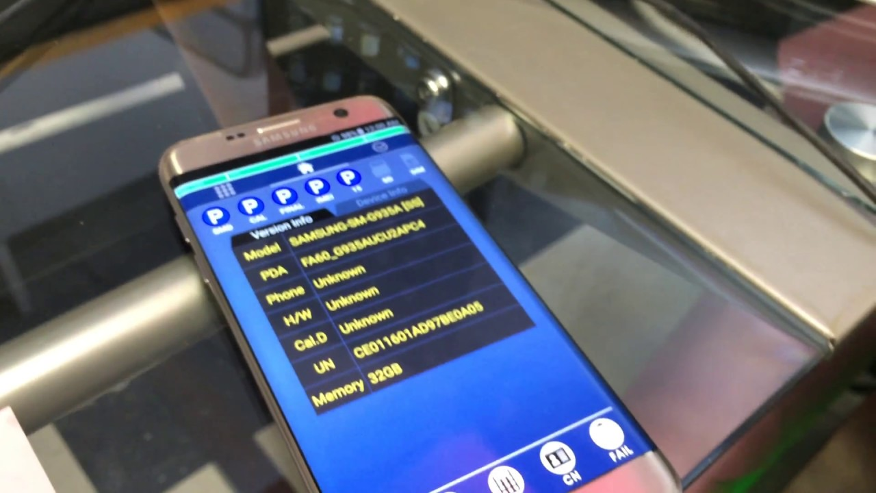 Samsung Galaxy S7 Edge FRP google lock removal using factory firmware