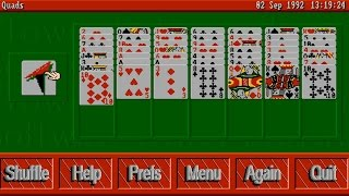 AMIGA Excellent Card Games II 2 COLLECTION Quads Rapide Sir Tommy Cribbage Betrothal OCSTowerSof1993