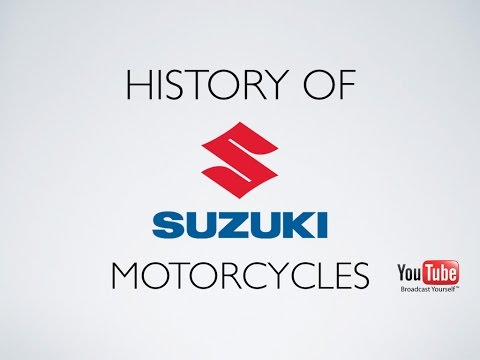 History of Suzuki Motorcycles
