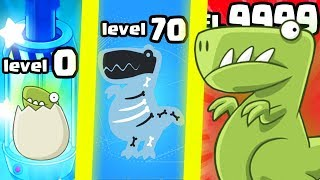 IS THIS THE MOST EXPENSIVE STRONGEST DINO EVOLUTION? (9999+ LEVEL UPGRADE)l Crazy Dino Park New Game
