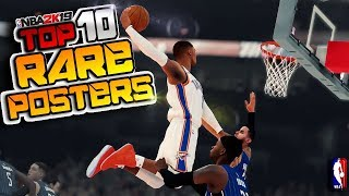 NBA 2K19 RAREST POSTERS & DUNKS Top 10 Plays Of The Week #45