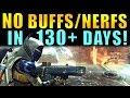 Destiny: NO Buffs/Nerfs in 130 Days! | Slow Sandbox Updates are HURTING DESTINY!