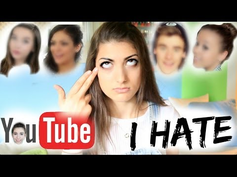 Thumbnail: YOUTUBERS THAT I HATE!