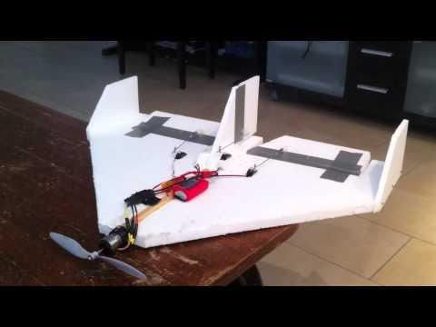 styropor flieger rc plane selfmade youtube. Black Bedroom Furniture Sets. Home Design Ideas