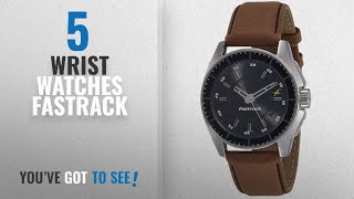 Top 10 Wrist Watches Fastrack [2018]: Fastrack Black Magic Analog Black Dial Men's Watch -