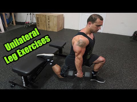 Top 5 Unilateral Leg Exercises | Fix Your Muscle Imbalance!