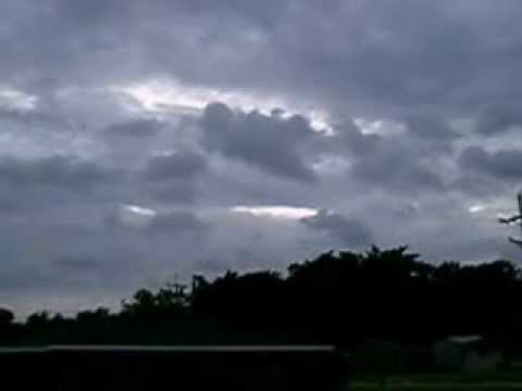 Hurricane Isaac In Morgan City, Louisiana.wmv
