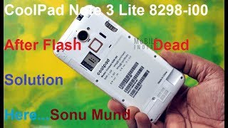 Coolpad 8298-i00 Note 3 Lite Dead Solution