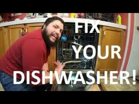 GE Dishwasher that won't HEAT or DRY dishes??? LET'S FIX IT!! #2