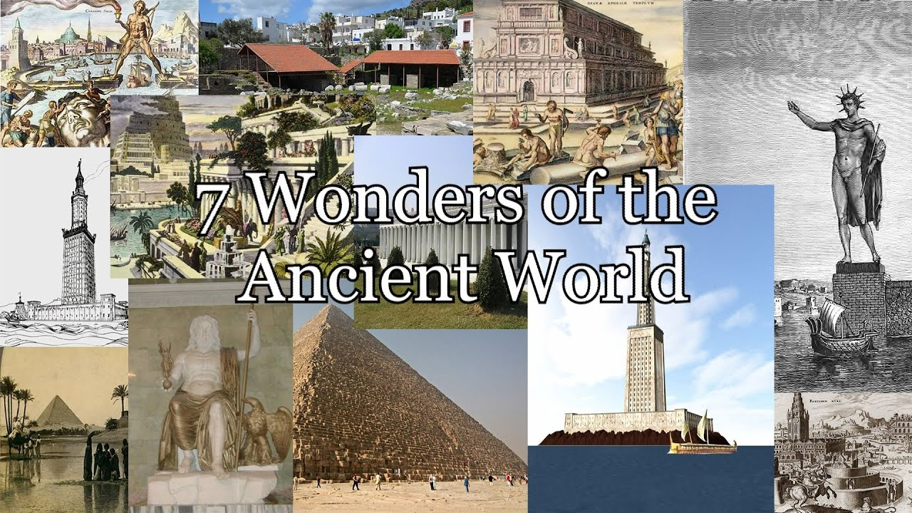 essay on the seven wonders of the ancient world The 7 ancient wonders of the world the great pyramid of giza built to be used as a tomb for the pharaoh cheops the method used during its construction.