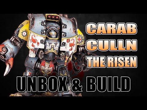 Hard to Kill: Carab Culln The Risen Unboxing & Build