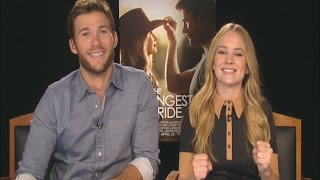 on the screen with scott eastwood and britt robertson the longest ride
