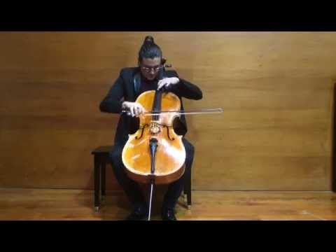 Bach - Cello Suite No 6 in D major, BWV 1012 Prelude & Sarabande, Santiago Cañón Valencia