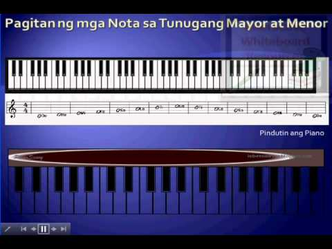 Iskalang Mayor at Menor (Major and Minor Scale) - Interactive Music Lesson