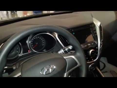interior Hyundai Veloster 2014 versin para Colombia FULL HD