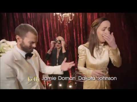 Jamie Dornan, Dakota Johnson - Oscars Backstage (Live with Kelly)