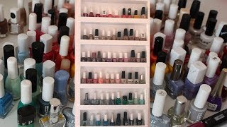 NAIL COLLECTION DECLUTTER