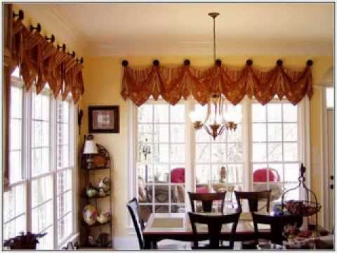 Creative Window treatment ideas for living room