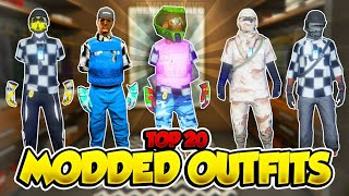 TOP 20 MODDED OUTFITS GTA 5 After Patch 1.50! (Best Clothing Glitches 1.50)
