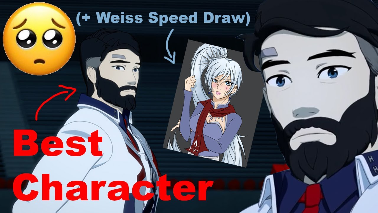 Download Why Ironwood is my favorite RWBY character (and why volume 8 made me SAD) [ + WEISS SPEED DRAW ] CC