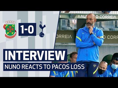 Nuno speaks after the defeat against Paços de Ferreira |  Post-match reaction