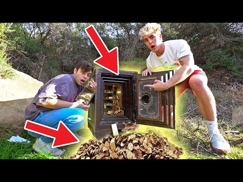 We FOUND a Secret ABANDONED SAFE Filled WITH GOLD!! (RARE)