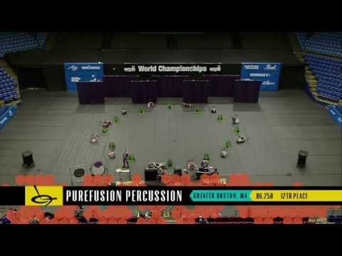 PureFusion Percussion 2014