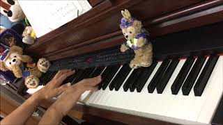【TDL】ピーターパンの空飛ぶ旅 -ピアノソロ-